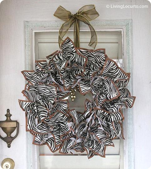 napkin wreath living locurto