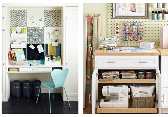 organized craft room