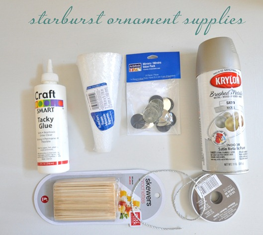 starburst ornament supplies
