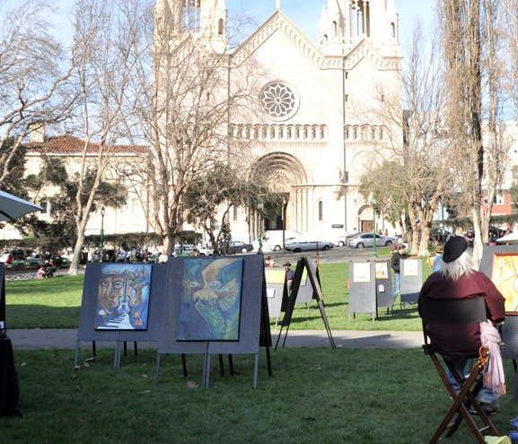 artists in washington square park