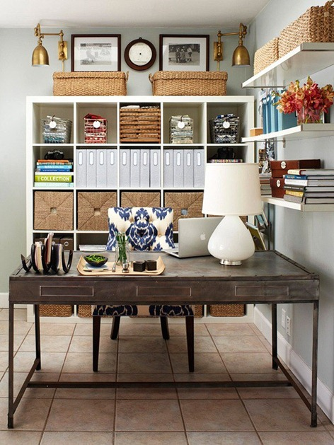 bhg organized home office