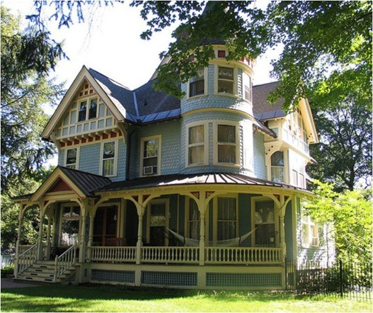 Which style home would you choose centsational girl Victorian house front