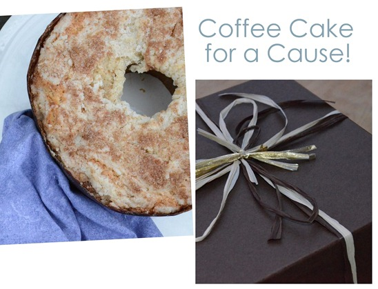 coffee cake for a cause