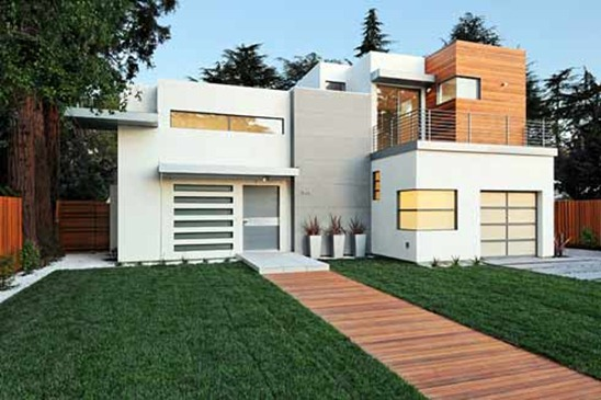 contemporary home