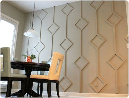 diamond wall treatment