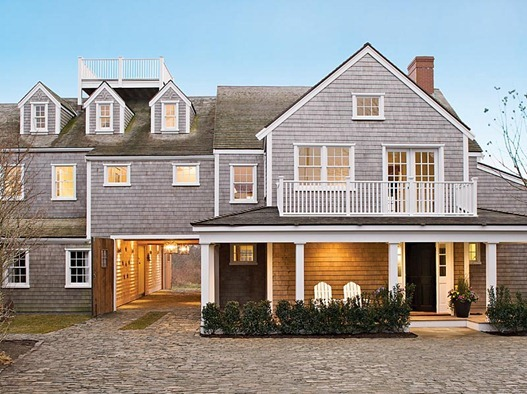 Which style home would you choose centsational girl for Nantucket shingle style