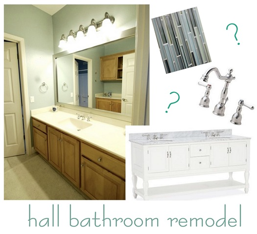 hall bath remodel