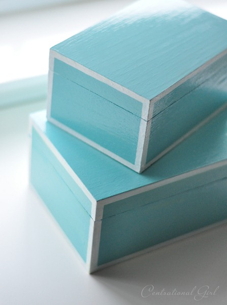 lacquer lookalike nesting boxes