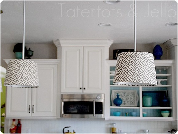 pendant lights tatertots and jello