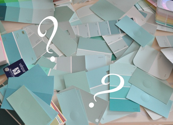 robins egg blue paint samples