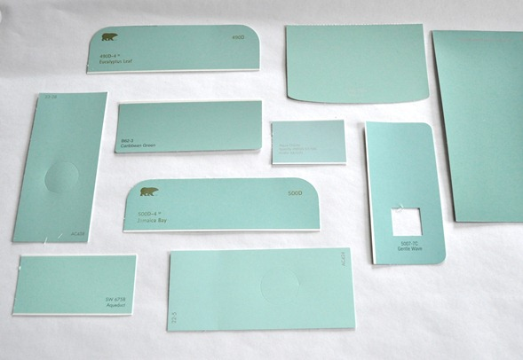 tiffany blue paint colors