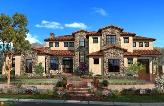tuscan style home