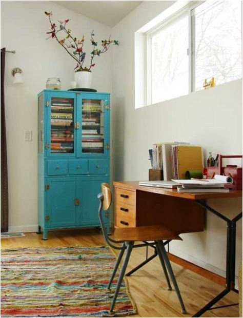 Small space solutions home offices centsational girl for Office design houzz
