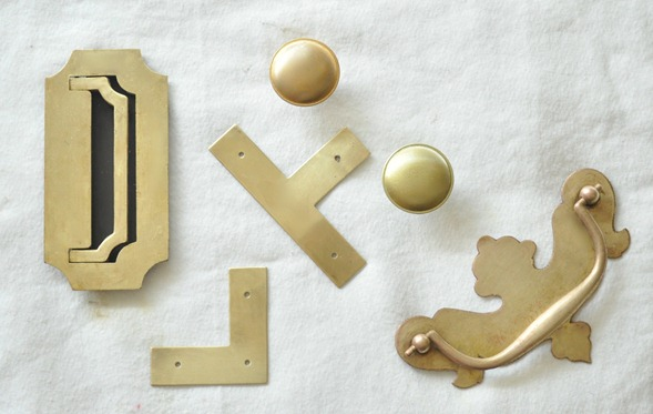 brass furniture hardware