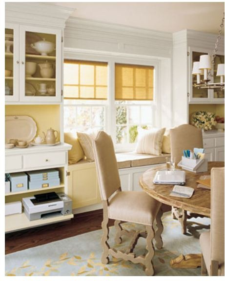 dining room office martha stewart