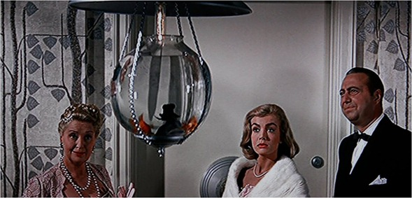 fishbowl in entry auntie mame