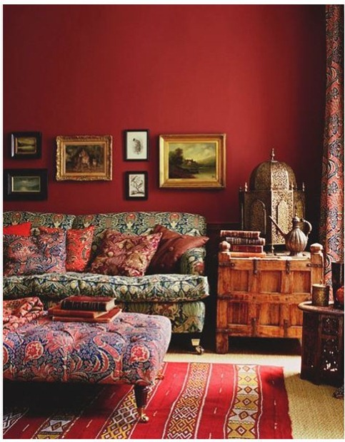 global red room via pinterest
