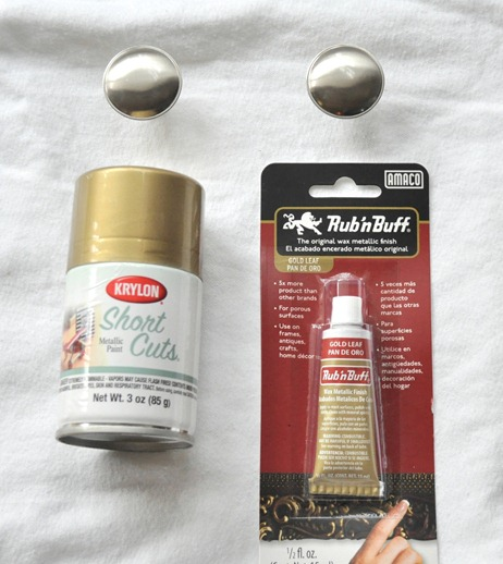 krylon gold leaf and rub n buff