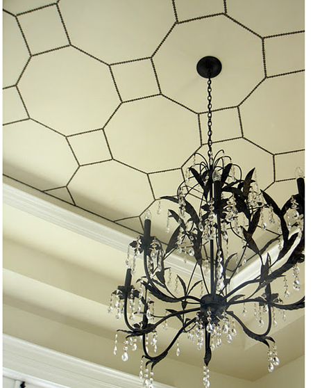 nailhead trim ceiling