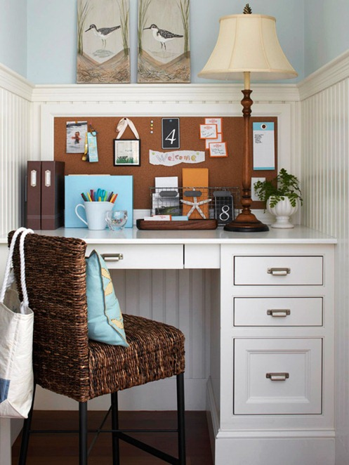 Small space solutions home offices centsational girl for Small space office solutions