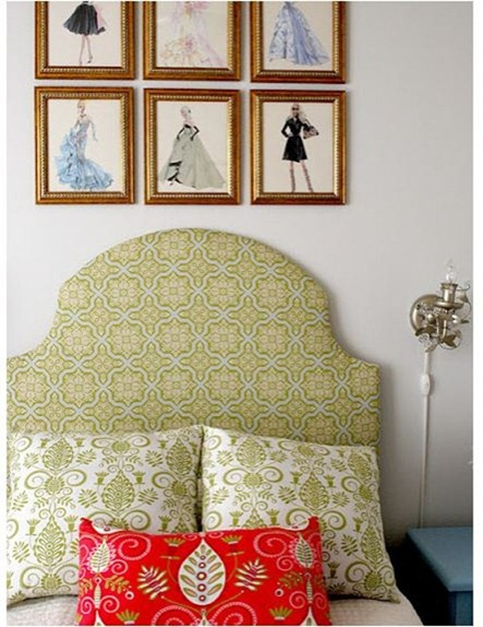 shabby nest upholstered headboard