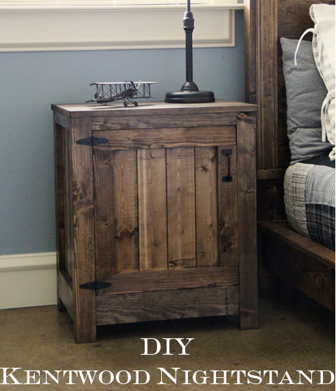 Botb centsational girl for Diy night stand