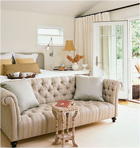 tufted sofa coastal living