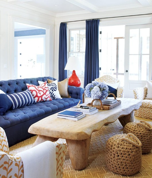 tufted sofa style at home