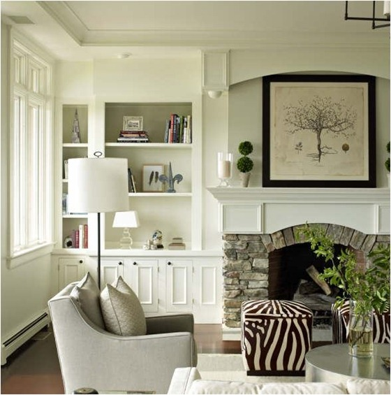 white built ins bella mancini