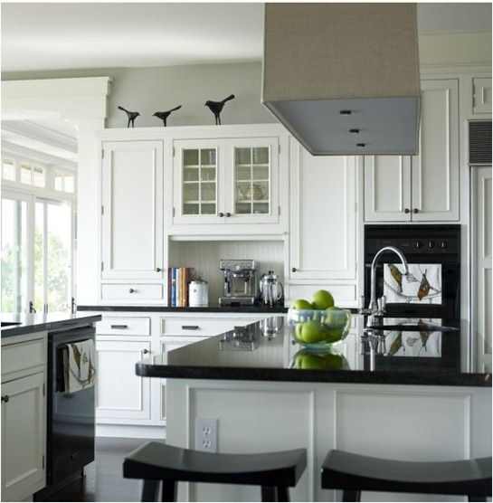 black and white kitchen bella mancini