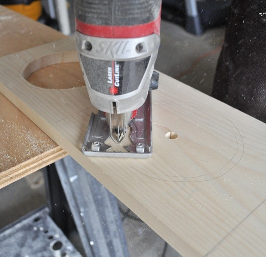 cut with jig saw