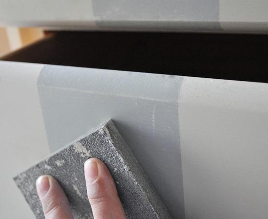 distressed edges