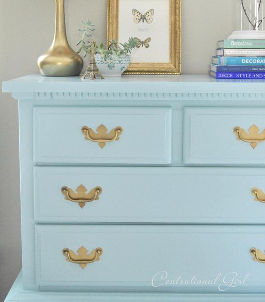 A Blue Bureau My Favorite Paints For Furniture