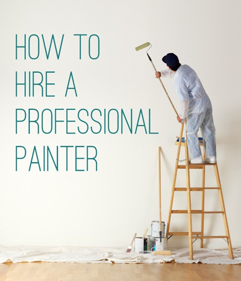 how to hire professional painter