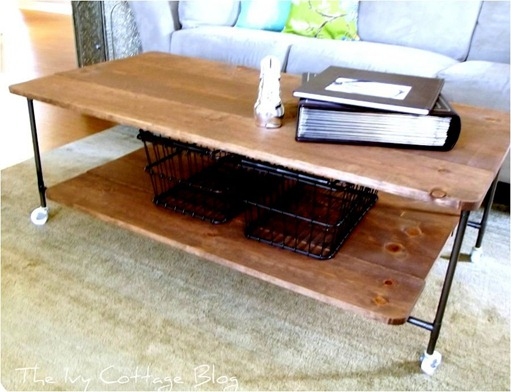 ivy cottage blog coffee table