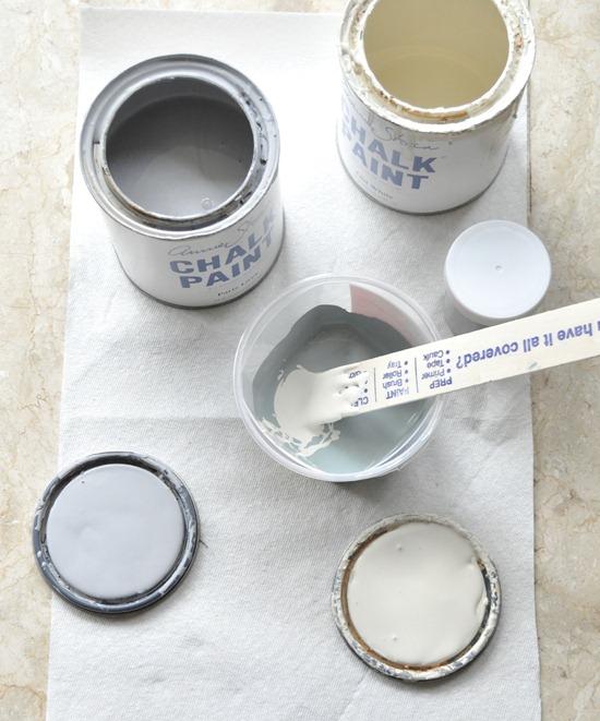 mix chalk paints