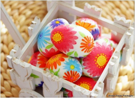 napkin eggs