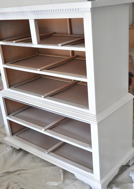 primed dresser