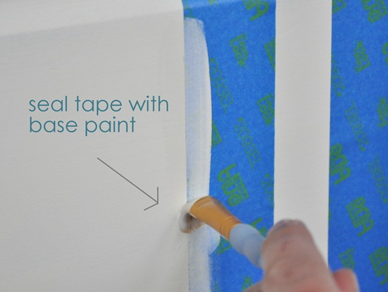 seal tape with base paint