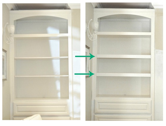 thin to thick shelves