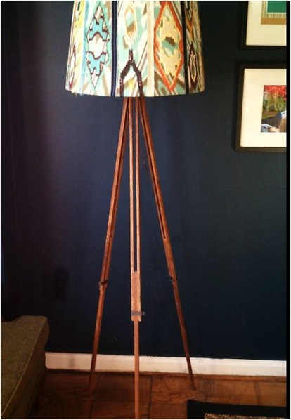 tripod lamp for a song