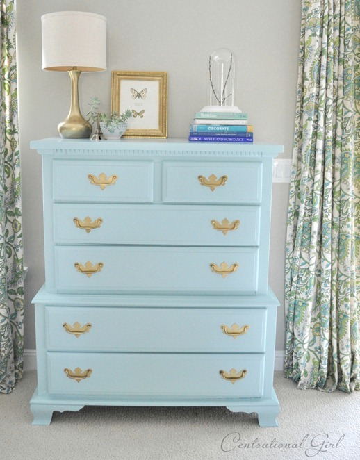 A Blue Bureau My Favorite Paints For Furniture