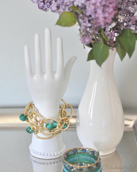 gold link bracelet cg