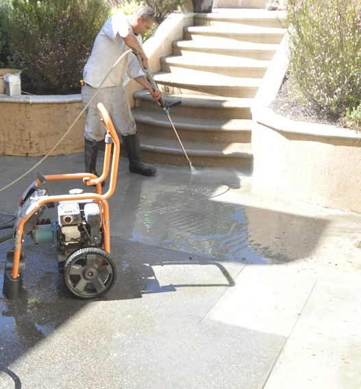 power wash