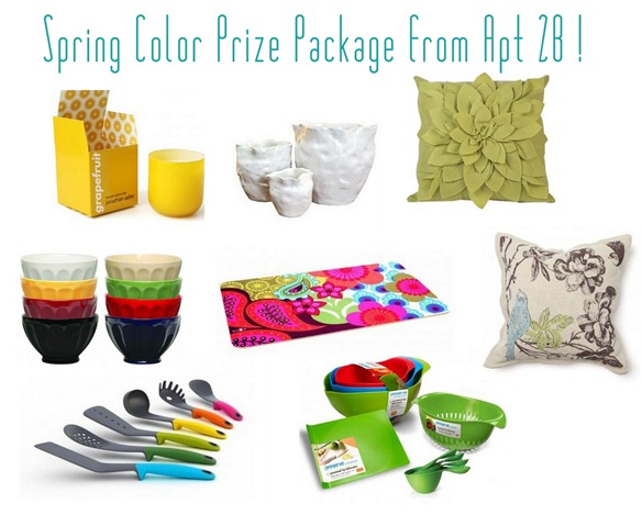 spring color prize package