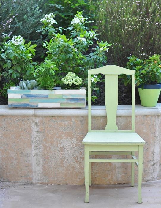 wood shim decorative planter box cg