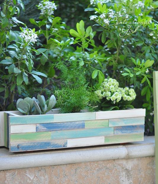 wood shim planter detail cg