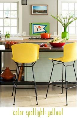 color spotlight yellow