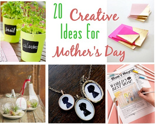 creative ideas for mother's day