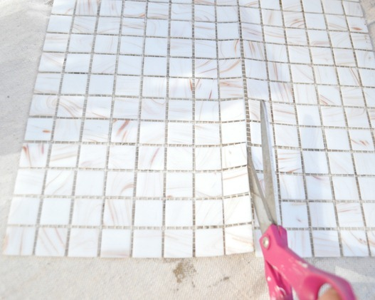 cut mosaic tile